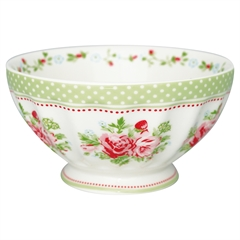 French bowl xlarge Mary white