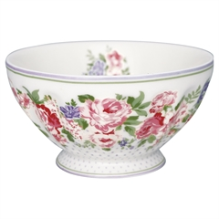 French bowl xlarge Rose white