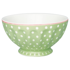 French bowl xlarge Spot pale green