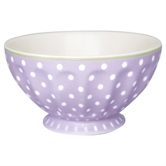 French bowl xlarge Spot lavendar