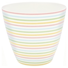 Latte cup Ansley white