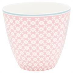 Latte cup Helle pale pink