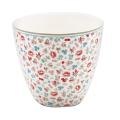 Latte cup 10 years anniversary Tilly white - limited edition