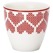 Mini lattekop GreenGate December red