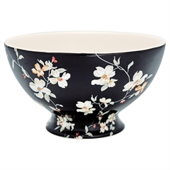 Soup bowl Jolie black