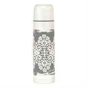 Termoflaske GreenGate Lace warm grey 800 ml.