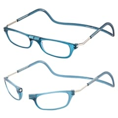 CliC Vision Frosted Denim Blue læsebrille