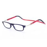 CliC Flex Rectangular Frosted Dark Blue/Red/Dark Blue