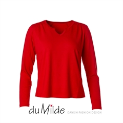Bluse - du Milde Petra Basic Long