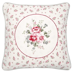 Cushion Elouise white w/application 40x40cm