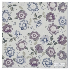 Napkin Beatrice pale grey large 20pcs