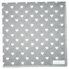 Napkin Penny grey large 20pcs