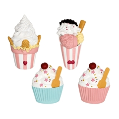 Magnet Ice cream pastel mix set of 4