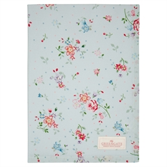 Tea towel Belle pale blue