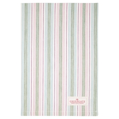 Tea towel Edda white