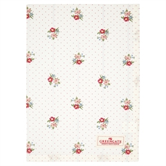 Tea towel Eja white