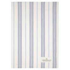 Tea towel Elinor pale grey