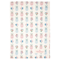 Tea towel Elsie white