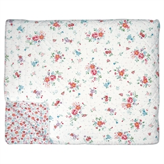 Bed cover Belle white 140x220cm