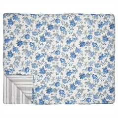 Bed cover Donna blue 140x220cm