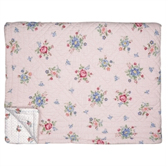 Bed cover Roberta pale pink 140x220cm