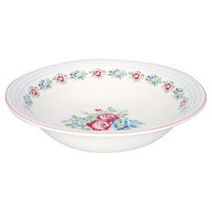 Salad bowl Henrietta white
