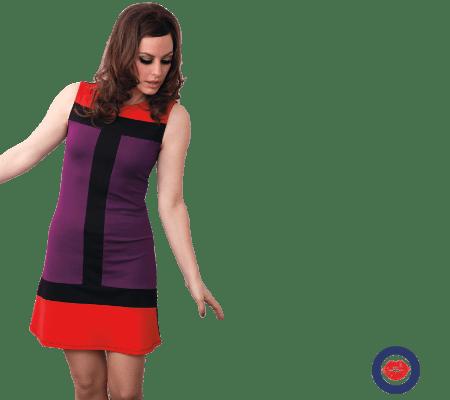 Mademoiselle Kjoler Yeye Dame Retro 60'er Tøj Bluser Smart w7SwqnxBz