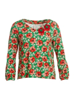 Mary Poppies - du Milde bluse