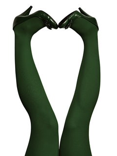 du Milde - Tights/strømpebukser Pinetree Green