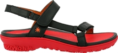 ART sandal 1502 ANTIBES grass black-grosella