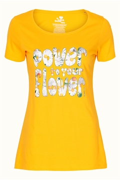 Yellow Power Flower - Margot t-shirt